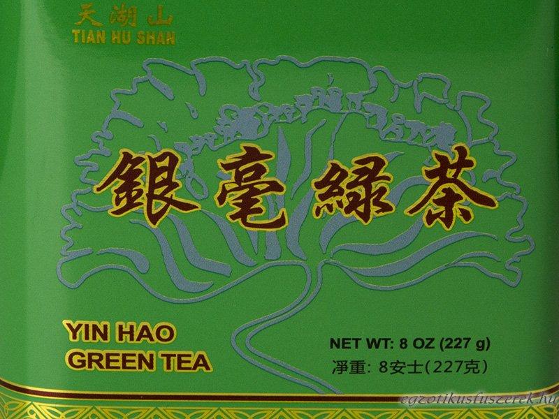 Zöldtea Yin Hao - Fémdobozban 227g
