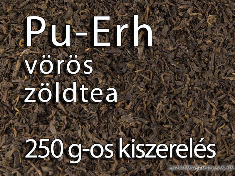 Pu-Erh Vörös zöldtea - 250g-os kiszerelés