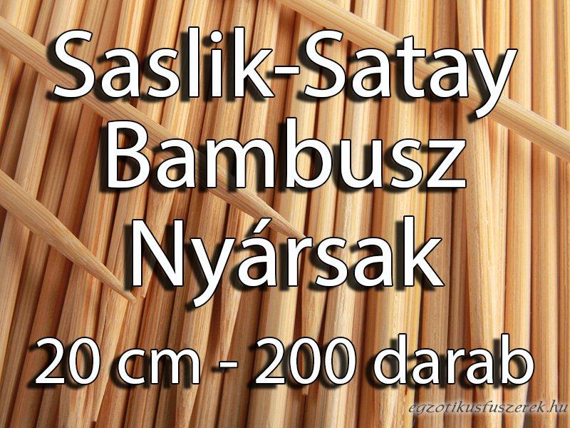 Nyárs, Grill, Saslik pálcikák - 20 cm, 200 db
