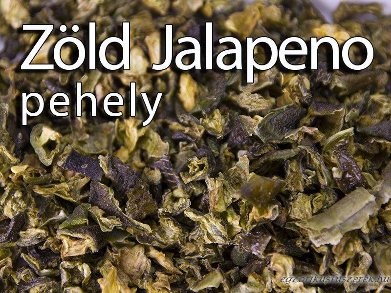 Jalapeno Chili Pehely - Zöld