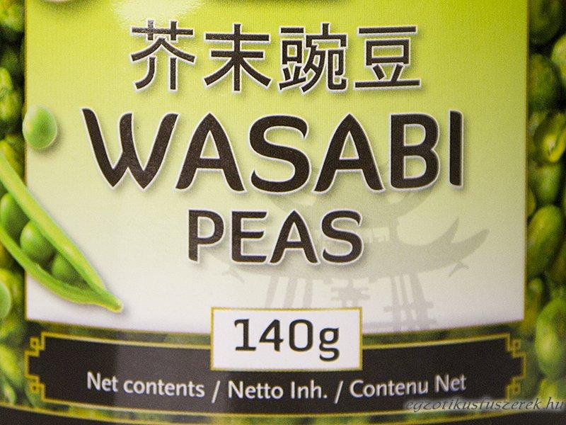 Wasabi Zöldborsó Snacks - 140g