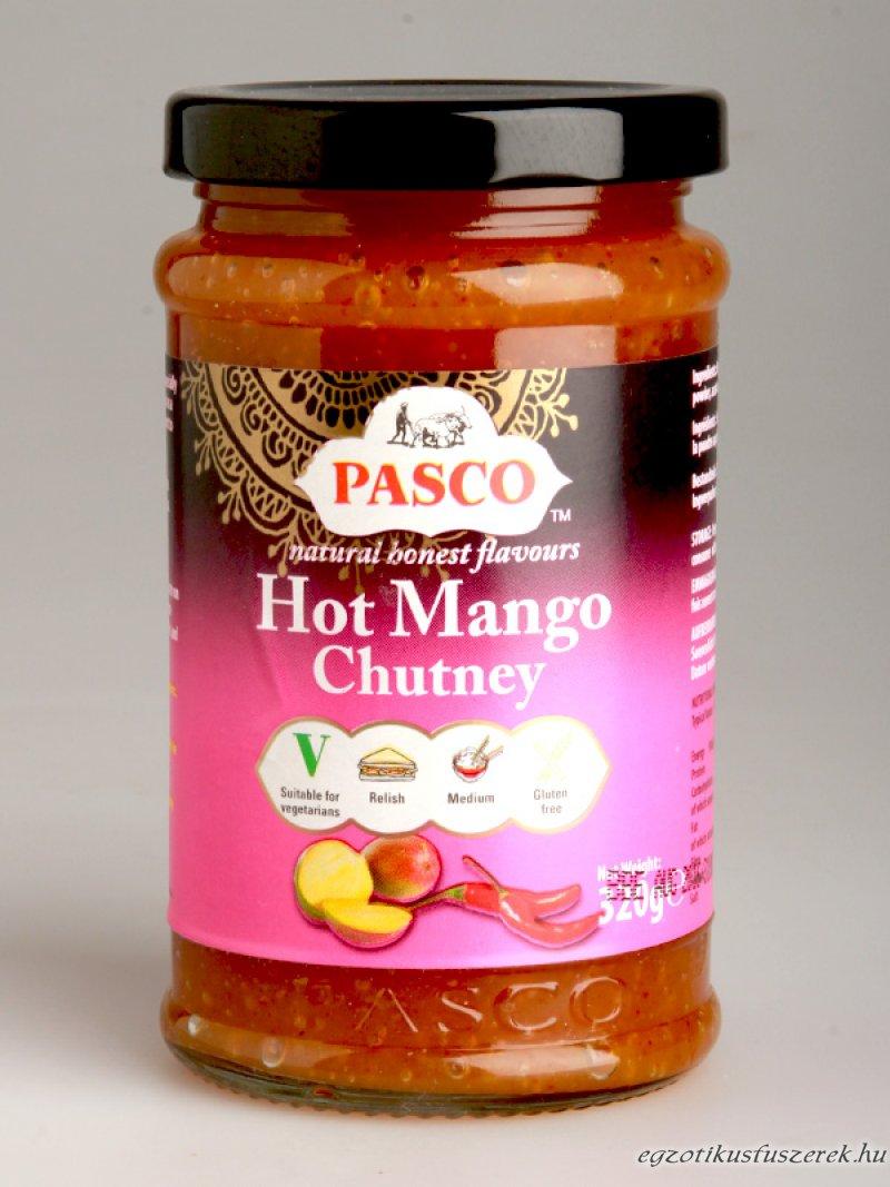 Mango Chutney, Csípős, Pasco