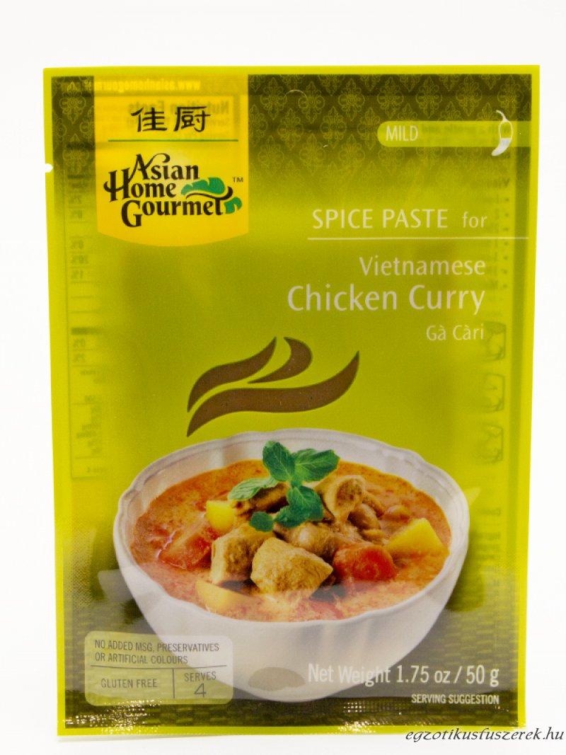 Csirke Curry Fűszerpaszta, Vietnami Gá Cári, AHG enyhe