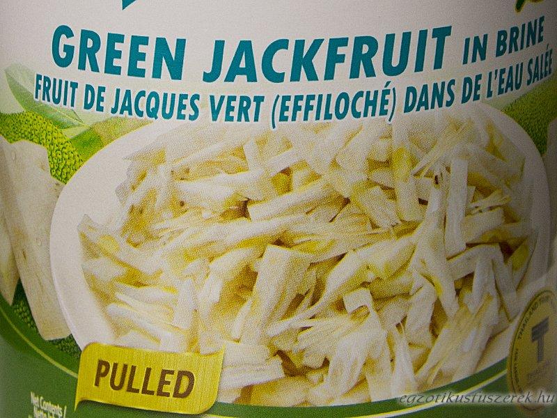 Jackfruit Zöld - a húshelyettesítő 540g