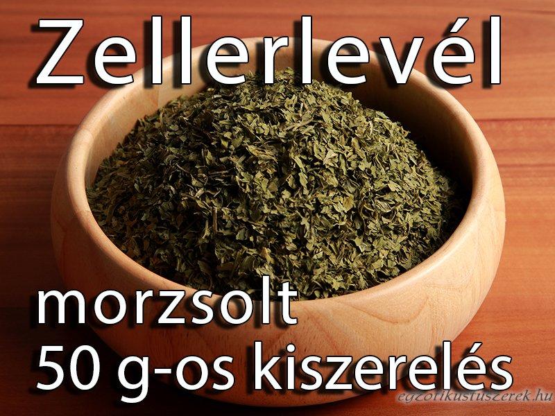 Zellerlevél, morzsolt - 50 g-os kiszerelés