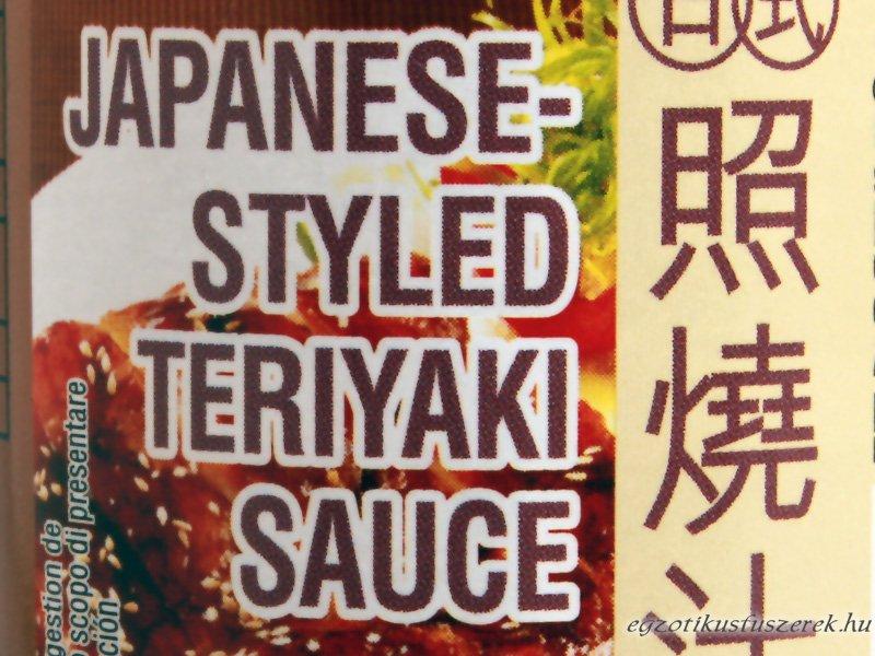 Teriyaki szósz, japán, Amoy