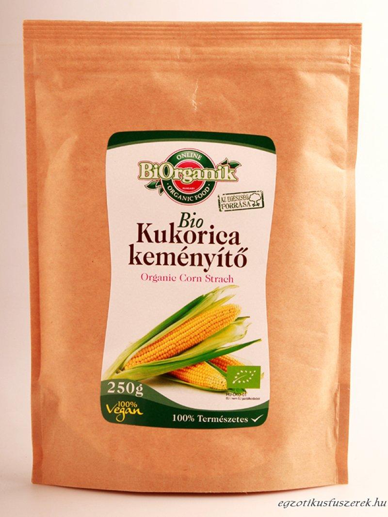 Kukorica keményítő, Bio