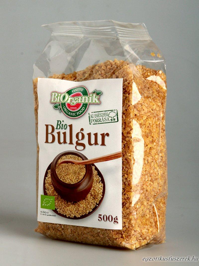 Bulgur, Bio