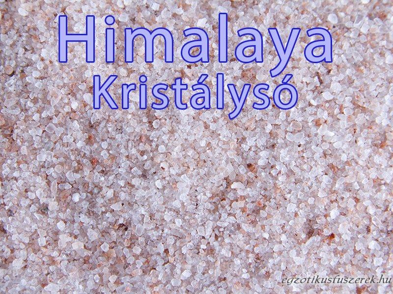 Himalája só, finom rózsaszín