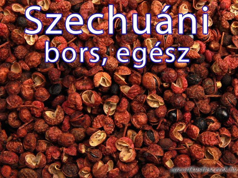 Szechuáni bors, egész