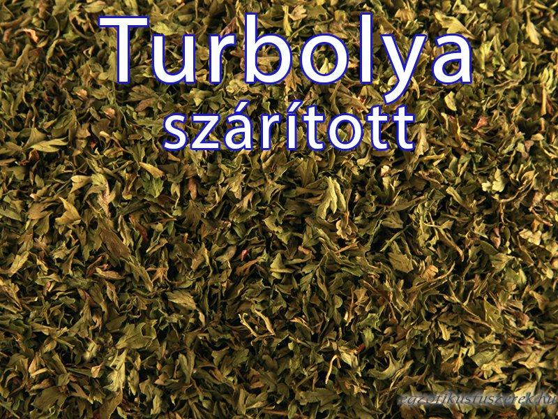 Turbolya, morzsolt