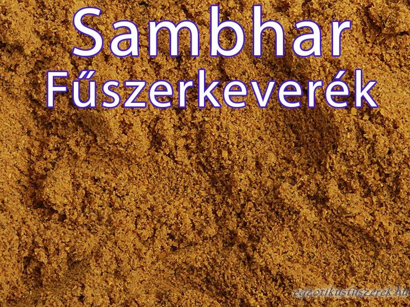 Sambhar fűszerkeverék, csípős