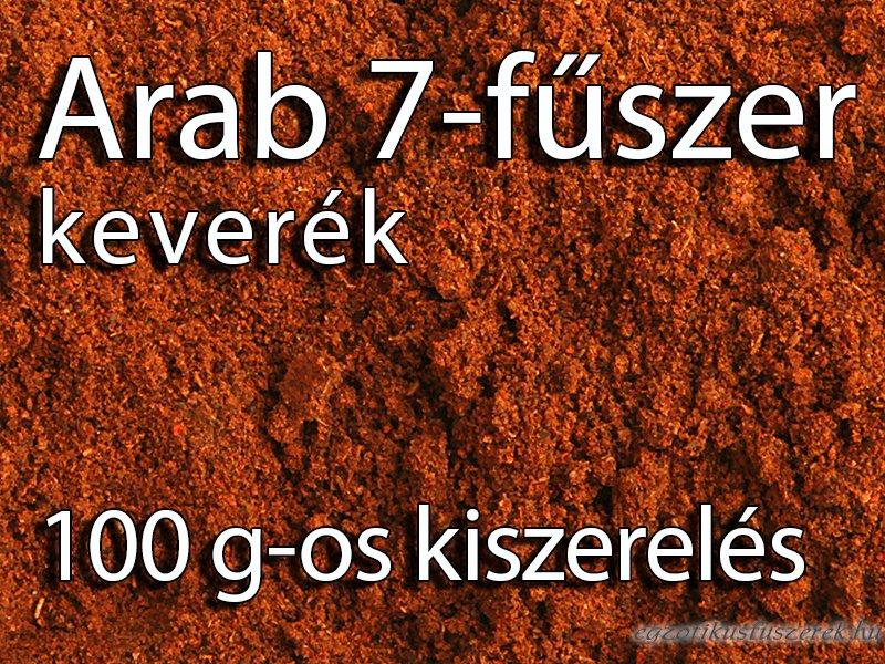 Arab hétfűszer keverék - 100 g-os kiszerelés