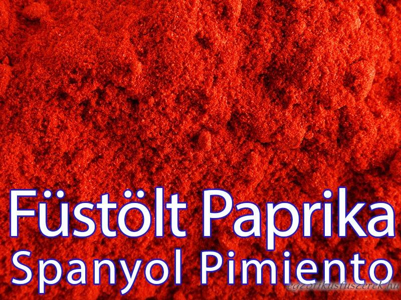 Füstölt Paprika - Spanyol Pimento, Csípős