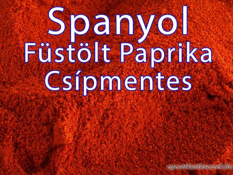 Füstölt Paprika - Spanyol, Csípmentes