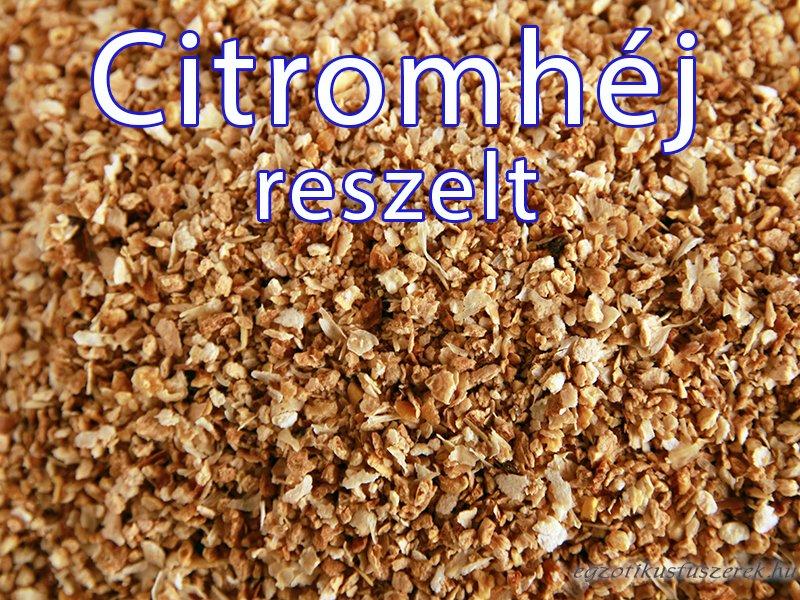 Citromhéj, granulátum 4-8 mm