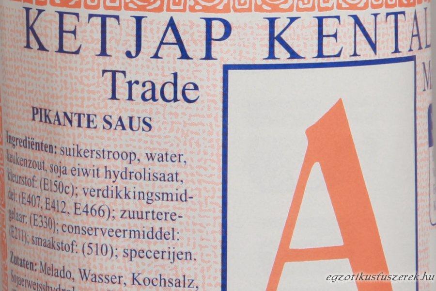 Ketjap Kental - az édes Indonéz Szójaszósz,