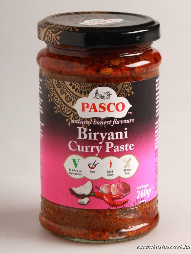 Biryani Curry Paszta Pasco - 260 g