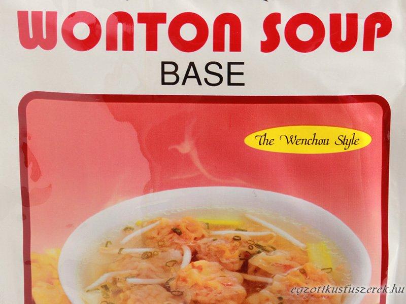 Wonton Kínai Levesalaplé, Wenchou stílus