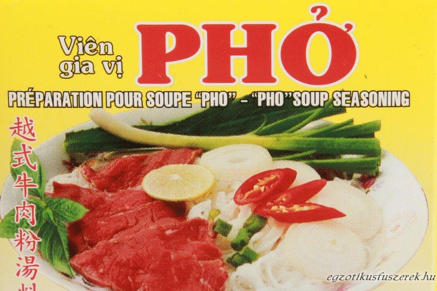 Pho leveskocka - vietnámi marhahús leveskocka
