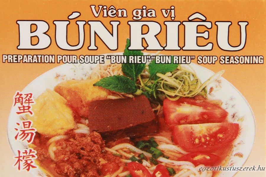 Bún Riéu, vietnami leveskocka