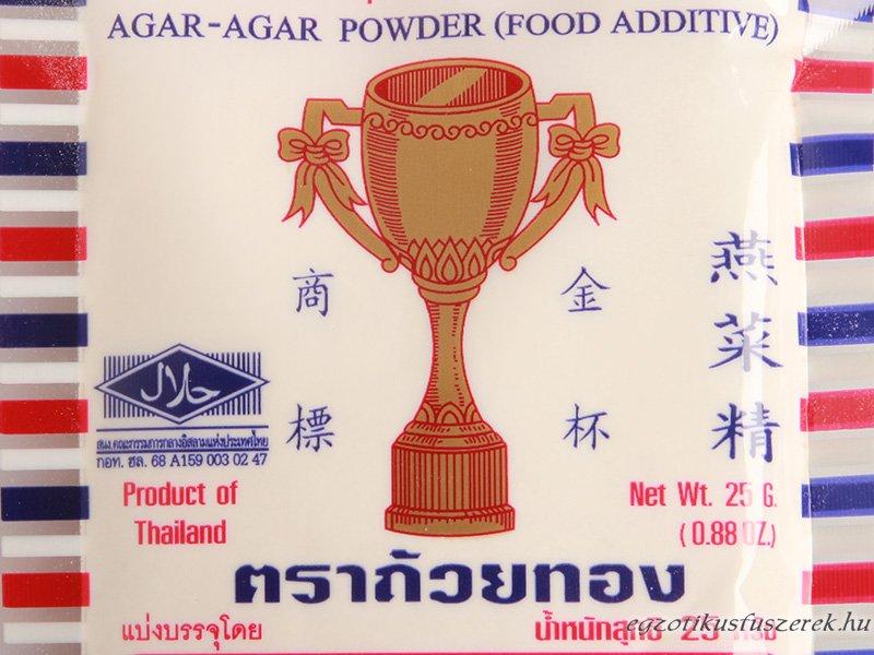 Agar-agar - zselatin algából