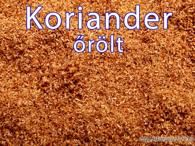 Koriander, őrölt