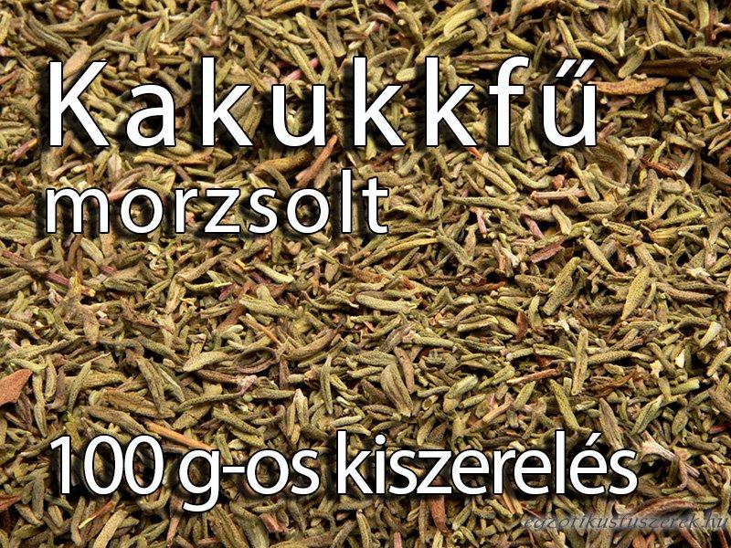 Kakukkfű, morzsolt - 100 g-os kiszerelés