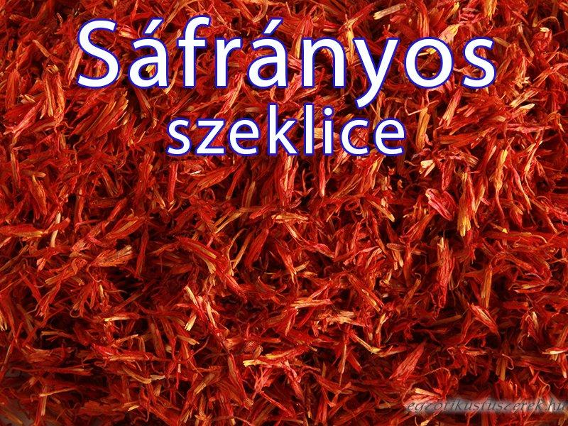 Sáfrányos Szeklice - a sáfránypótló