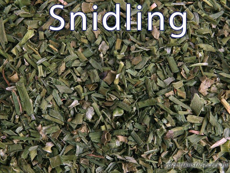 Snidling, Metélőhagyma, szárított karikák