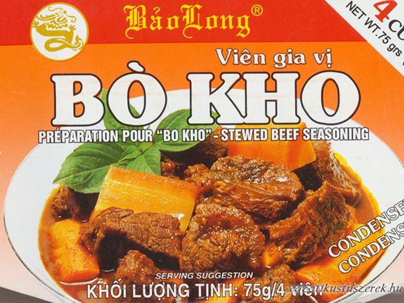Bo Kho - Vietnámi marharagu pörköltkocka