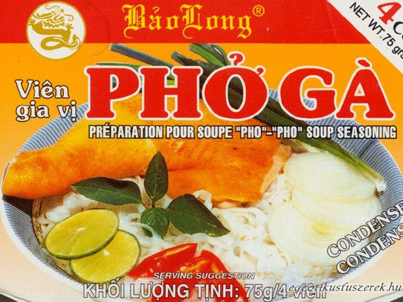 Pho Ga - Vietnámi Csirkehús leveskocka