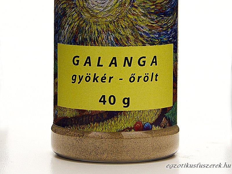 Galanga, Galangál - őrölt, Fűszerszóróban 40g