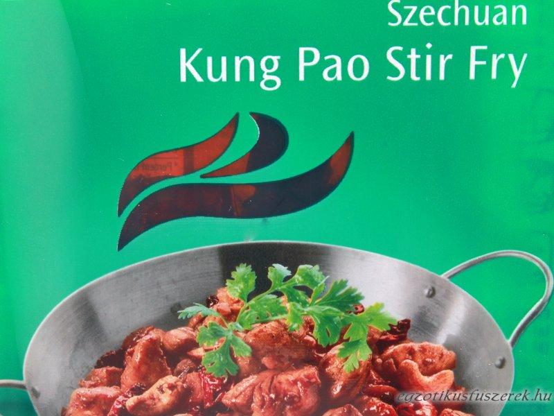 Kung Pao Stir Fry - Szechuáni csípős Fűszerpaszta AHG