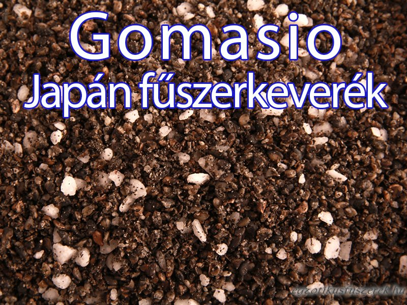 Gomasio, Japán Fűszersó Keverék