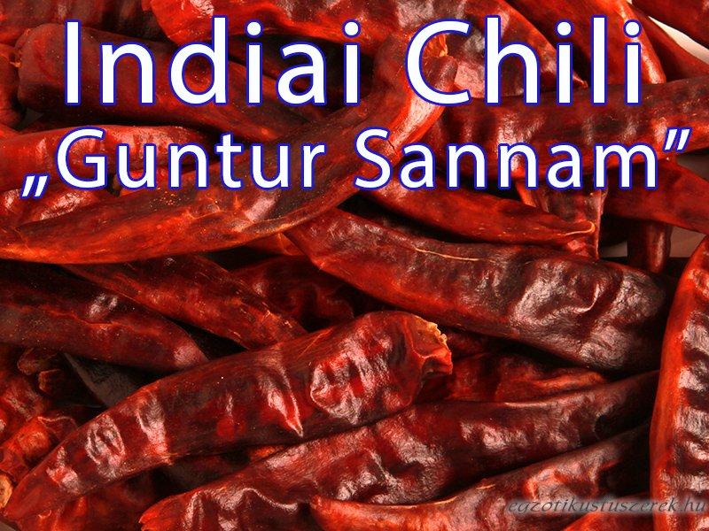 Chili - Guntur Sannam, Indiai