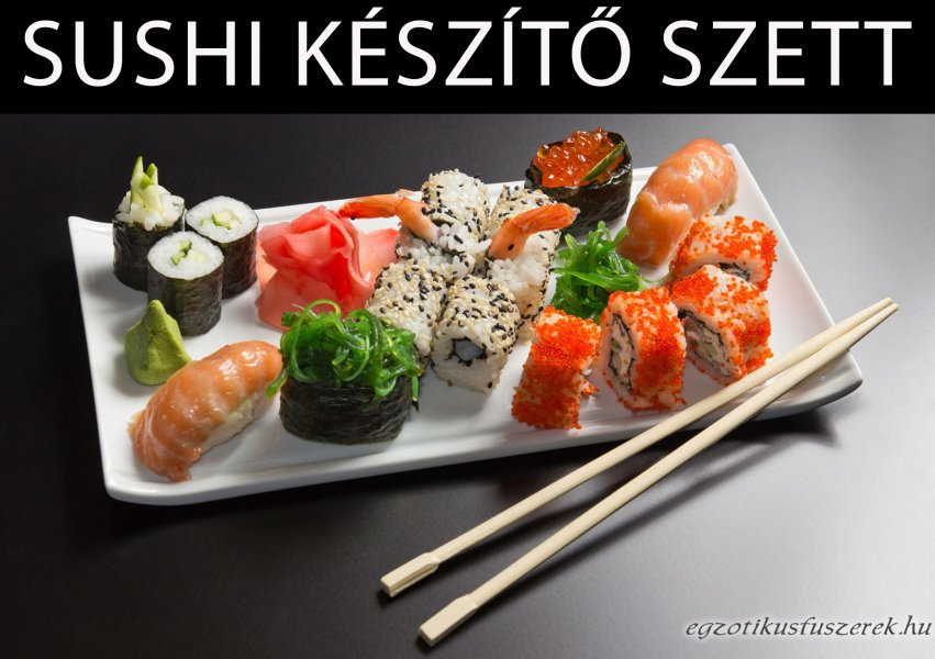 Sushi Készítő Szett