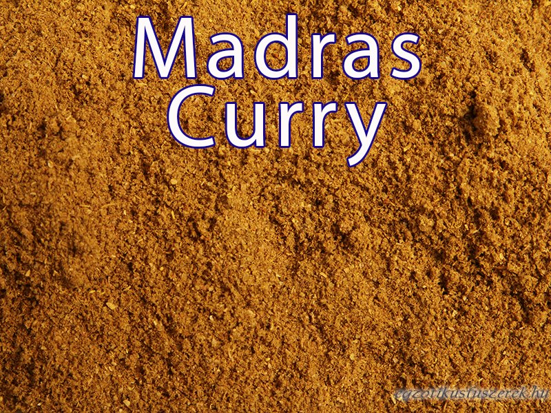 Madras Curry Fűszerkeverék 25g