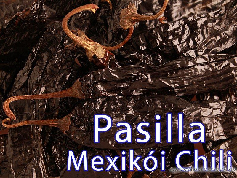 Pasilla Szárított Mexikói Chili