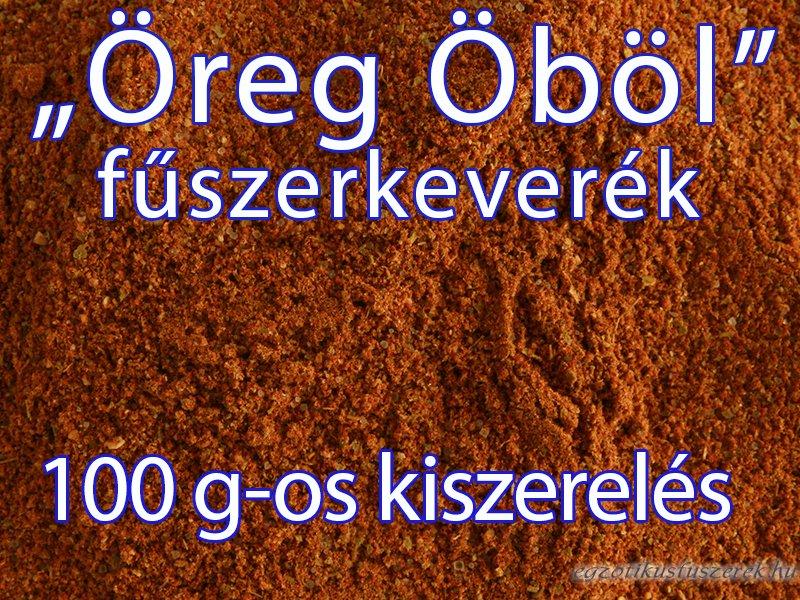 Öreg Öböl Fűszerkeverék, 100 g-os kiszerelés