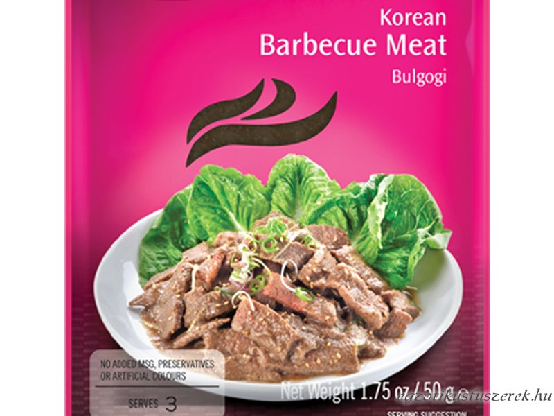 Bulgogi, Koreai Barbecue Húspác AHG