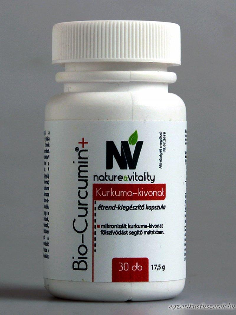 Bio Curcumin - Kurkuma kapszula 30 db
