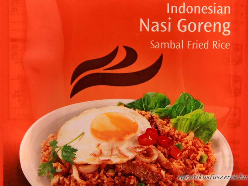 Nasi Goreng - Indonéz Sült Rizs AHG