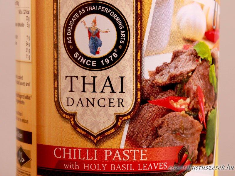 Chili Paszta, Thaiföldi Szent Bazsalikommal, TD