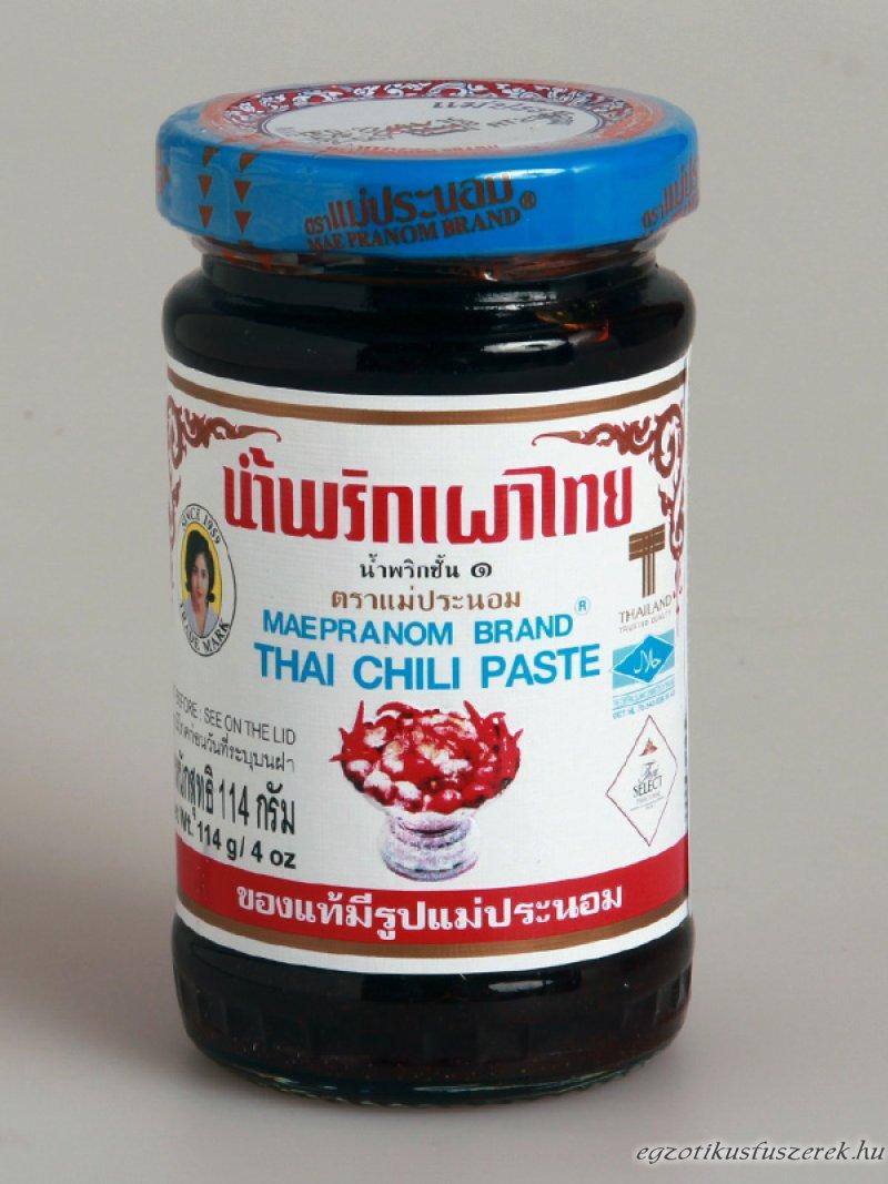 Chili Paszta, Thaiföldi - Nam Prik Pao