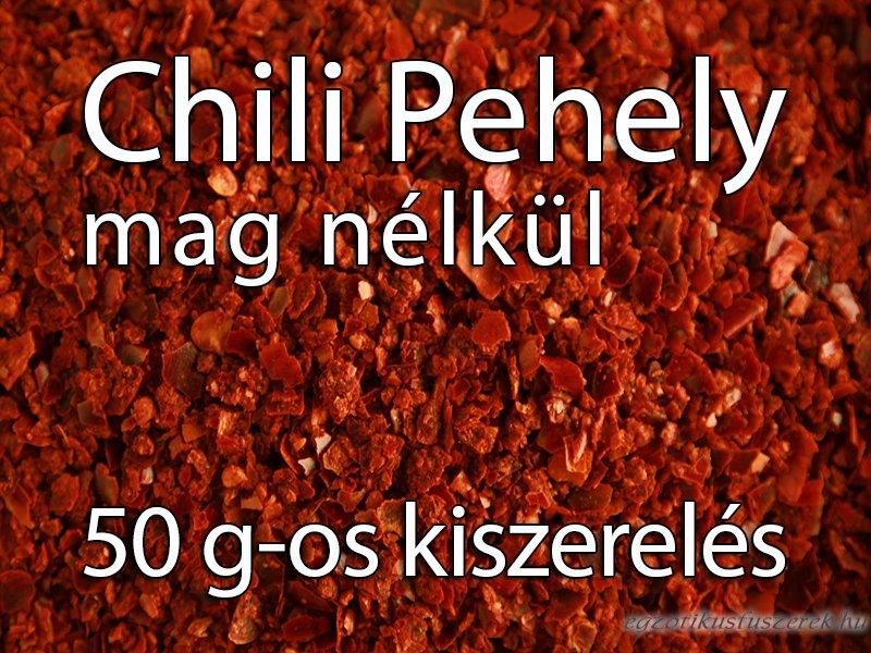 Chili Pehely Mag nélkül - 50 g