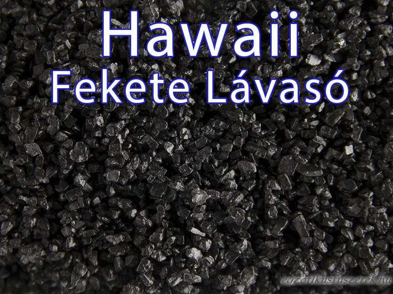 Hawaii Fekete Lávasó