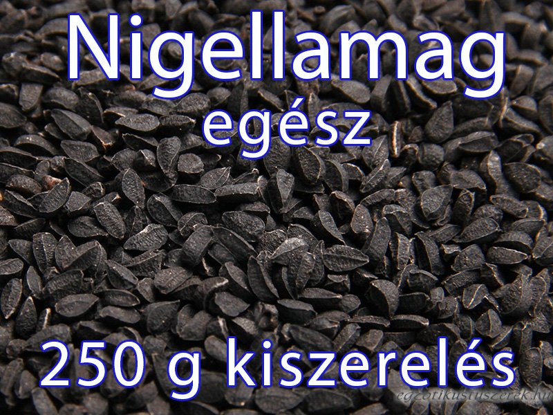 Nigella mag - 250g-os Kiszerelés