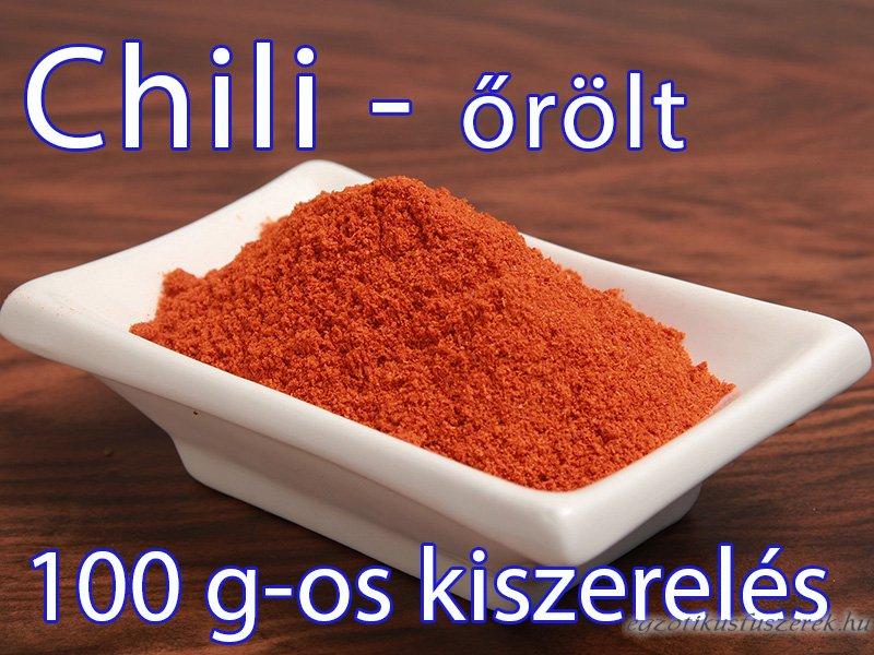Chili, őrölt - 100 g-os kiszerelés