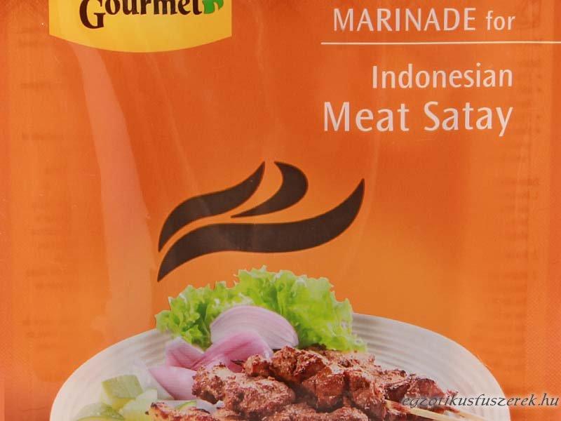 Satay pác húshoz, Indonéz, enyhe AHG
